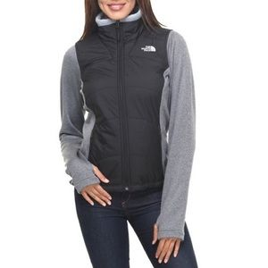 The North Face Agave Mesh-up Puffer Sweater Jacket
